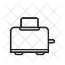 Toster Tost Kitchen Ware Icon