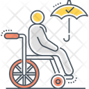 Total Permanent Disability Insurance Icon