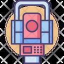 Total Station Total Station Survey Survey Machine Icon