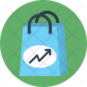 Tote Graph Growth Icon
