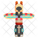 Totem Ritual Tiki Icon