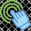 Touch Gesture Range Icon