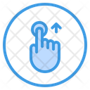 Touch Up Finger Icon