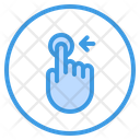 Touch Scroll Finger Icon