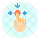 Touch Tap Gesture Icon