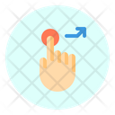 Touch Right Up Icon