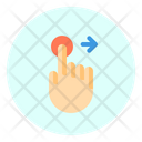 Touch Right Finger Icon