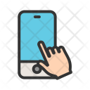 Device Gesture Touch Icon