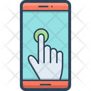 Touch Gesture Phone Icon