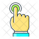 Finger Hand Interaction Icon