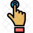 Touch Connection Interaction Icon