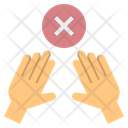 Touchless Stop Forbidden Icon