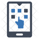 Touch Lock Security Icon