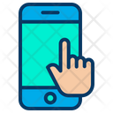Touch Mobile Icon