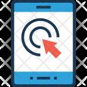 Touchscreen Smartphone Click Icon