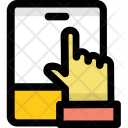 Finger Touch Mobile Icon