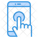 Touch Screen Smartphone Application Icon