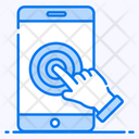 Touch Screen Digital Interaction Finger Touch Icon