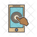 Touch Screen Communication Icon