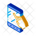 Hand Touch Tablet Icon
