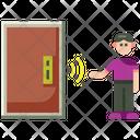 Touchless Door Icon