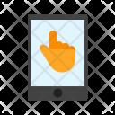 Touchscreen Technology Mobile Icon