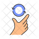 Touchscreen Gesture Icon