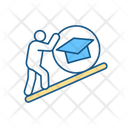 Tough Student Schedule Icon