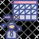 Tough Task Deadline Due Icon