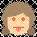 Tounge Emotion Face Icon