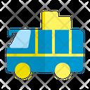 Tour Travel Bus Icon