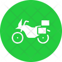 Tourer Adventure Motorcycle Icon
