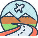 Tourism Touring Ramble Icon