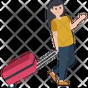Adventurer Tourist Traveller Icon