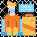 Traveler Traveller Lounge Icon