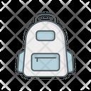 Tourist Bag Backpack Luggage Bag Icon