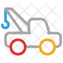 Tow Truck Transport Icon