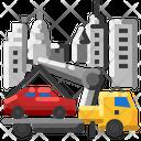 Tow Car Icon