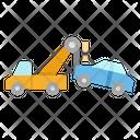 Tow Breakdown Crane Icon
