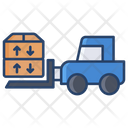 Tow Tractor Icon