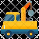 Large Crane Truck Icon