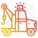 Tow Truck Breakdown Crane Icon