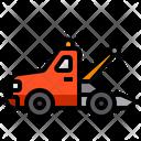 Tow Truck Crane Car Icon