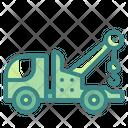 Tow Truck Crane Mechanic Icon