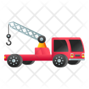 Tow Truck Crane Truck Tow Vehicle Icon