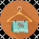 Towel Hanger Discount Icon