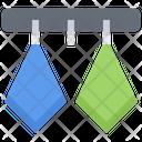 Towel Hanger Bathroom Icon