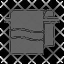 Towel Hotel Hanger Icon