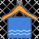 Towel Barber Towel Dryer Towel Icon