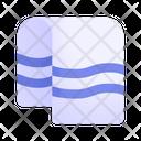 Wellness Sauna Towel Icon